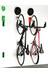 Cycloc Endo pyöräteline seinään , vaaleanpunainen